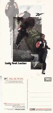 REEBOK AT LADY FOOT LOCKER UNUSED ADVERTISING COLOUR  POSTCARD