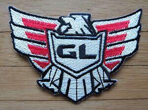 Aufnäher / Aufbügler/ Patch: HONDA - GOLDWING - GL Logo -- Rar!