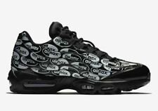 Nike Air Max 95 All-Over Print Black White SIZE 9.5