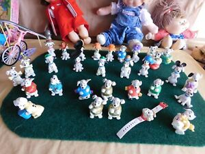 Disney 101 Dalmatians Toy Figures (all used, open packages, and mixed variety)