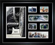 Fast & Furious 7 Paul Walker limited Edition Signed Framed Memorabilia