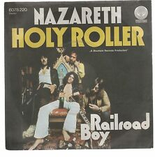 """NAZARETH  HOLY ROLLER RAILROAD BOY 7"""" 45 GIRI"""