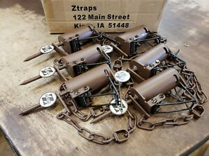 12 Brown Z Trap Dog Proof Trap DP Trap Push and Pull Trigger