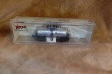"N Scale Atlas 50 001 003 - Beer Can Tank Car ""Brea Chemicals"" - # GATX 77156"