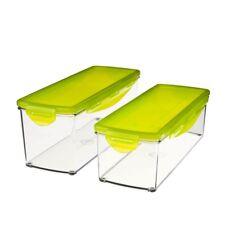 Genius-nicer atribuye plus recipientes set con tapa líquidos 33501