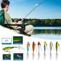 1pcs Fishing Lure Jigs Baits Hooks Fishing Accessories D0F5