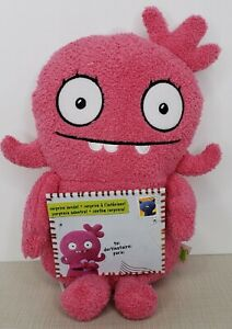 "Ugly dolls Moxy Yours Truly Plush Pink 9"" Soft & Adorable~ Brand New!"