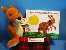 Kohl's Eric Carle's Kangaroo plush and Book(310-1645-1)