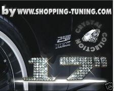 "LOGO 17"" STRASS CHROME JANTE VW GOLF POLO LUPO TOURAN"