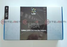 LSI BROADCOM LSI00346 SAS 9300-4i 12Gb/s mini-HD Internal HBA FACTORY SEALED