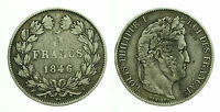pcc1601_15) FRANCIA 5 francs Louis Philippe I 1846  A Paris