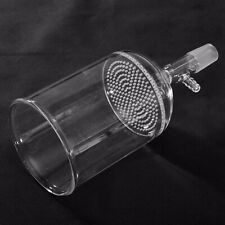New 500ml 24/40 Clear Glass Buchner Funnel With 80mm Pore Plate