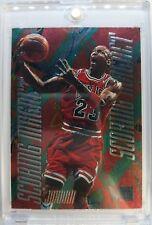 Rare: 1995 95-96 Fleer Metal SCORING MAGNET Michael Jordan #4, Embossed Insert !