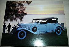 1930 Cadillac V16 Cabriolet car print (white, tan top)