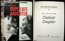 1960 ERLE STANLEY GARDNER CASE OF THE DUPLICATE DAUGHTER PERRY MASON