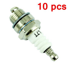 10 Spark Plug L7T Lawnmower Strimmer Trimmer Chainsaw Brush Hedge Cutter Engine