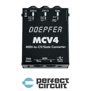 Doepfer MCV4 MIDI to CV Gate INTERFACE - NEW- PERFECT CIRCUIT