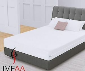 Anti Bug Bed Fully Zipper Encasement Anti Allergy Waterproof Mattress Protector