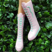 Long Boots Casual High Heels Cute Shoes Clothes For Barbie Doll Accessories NTF