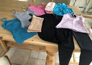 Dance Wear Bundle Size S/M/3A Leotard Unitard Tights Jazz Tops Various Brands