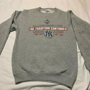 VTG NY Yankees 1998 World Series Champions Sweatshirt Y18/20 Vintage Baseball