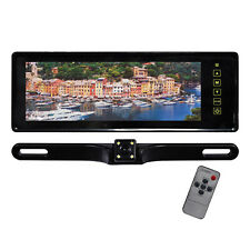 "TVIEW RV808C  Tview 8.8"" TFT Monitor Built in Rear View Mirror Back up camera"