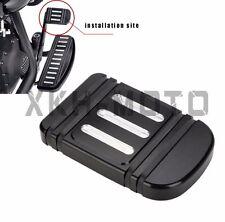 Black Edge Cut Brake Pedal Pad for Harley Touring Street Glide Road King & Tri