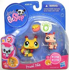 LPS Littlest Pet Shop Prized Pets Figure Bee Baby Bee #1798 and #1799