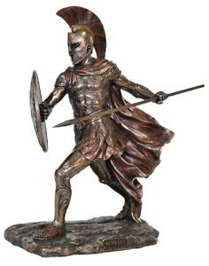 Achilles Veronese Bronze Statue. Greek God. Figurine Trojan War Troy