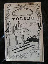 Partition Toledo Paso Doble M Lamblot