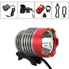 5000Lm CREE XM-L T6 LED Cycling Front Bicycle bike Light Lamp HeadLight Headlamp