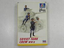 Italeri Models 1/35 Figures Soviet Tank Crew WWII- 350 - 2nd Hand Kit