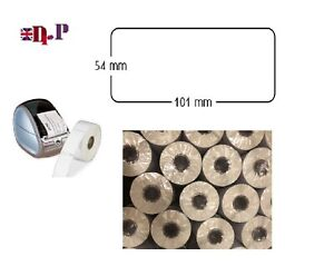 Dymo Seiko Compatible Self adhesive Labels 54 x 101 mm,220 ,White, Address Rolls