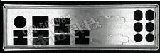 MSI I/O IO BLENDE SHIELD ZH77A-G43 Plus ,Z77A-G43, Z77MA-G43 backplate #G2812 XH