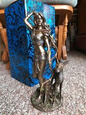 Artemis Diana Greek Goddess of the Hunt Statue Collectable Veronese