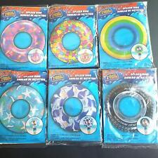 "Inflatable Swim Splash Ring Pool Float Donuts Ring Ocean Creatures 30"" Kids 4+"