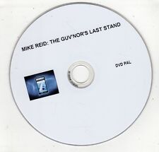 (GW636) Mike Reid, The Guv'nor's Last Stand - DVD