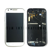 Samsung Galaxy S2 SGH-T989 LCD Touch Digitizer Assembly Frame White NO LOGO USA