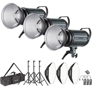 Neewer 1200W Studio Strobe Flash Lighting Kit for Shooting Bowens Mount(S-400N)
