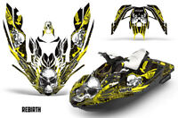 Bombardier Sea-Doo Spark 2Up Rotax900 Jet Ski Decal Wrap Graphics Kit 14-16 RB Y