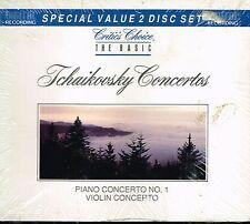 CD album: Tchaikovsky concertos. intersound 2 cds. C5