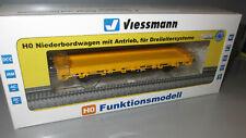 Viessmann H0 2316 DB Niederbordwagen mit Antrieb/Motor _ Digital Sound _ AC
