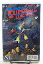 SUPERMAN UNCHAINED #4 1:100 KEVIN NOWLAN 1930s VARIANT COVER DC COMICS 2013