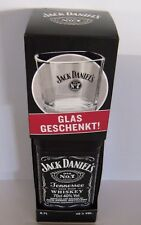 ( 1 Liter = 38 € )   Jack Daniels Old No.7  + Glas  - SET -