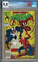Amazing Spider-Man (1st Series) #362 CGC 9.8 White Venom Carnage Human Torch app