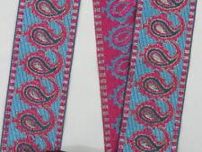 "02"" (5.08 Cm) wide By The Yard Jacquard Trim Woven Braid Sew Ribbon T605"