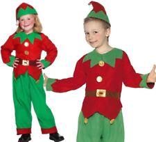 Smiffys Costume da Elfo Verde con Tunica Pantaloni e Cappello (o3z)