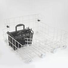 MAYTAG Quiet Series Dishwasher LOWER Bottom RACK W10120550 W10280784 w/ BASKET