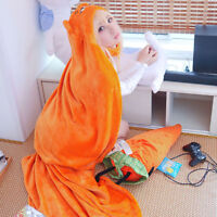 Anime Himouto! Umaru-chan Cosplay Cloak Hoodies Flannel Coat Daily Blanket Quilt