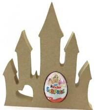 Princess Castle Pack of 5 18mm MDF Kinder Egg Holder Freestanding